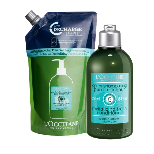 Aromachologie Revitalising Fresh Conditioner Eco Duo