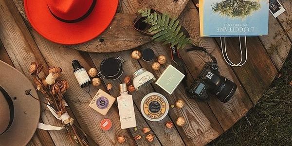 travel essentials - L'Occitane
