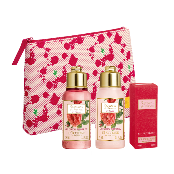 Roses et Reines en Rouge Discovery Pouch