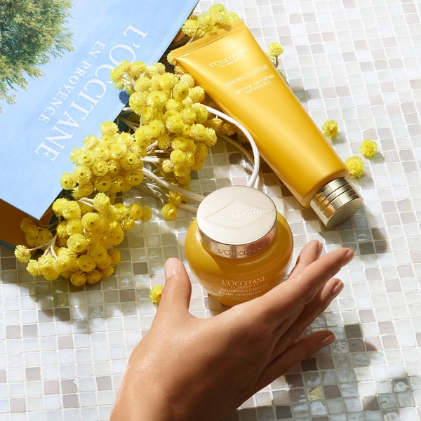 Immortelle Divine double cleansing - L'Occitane