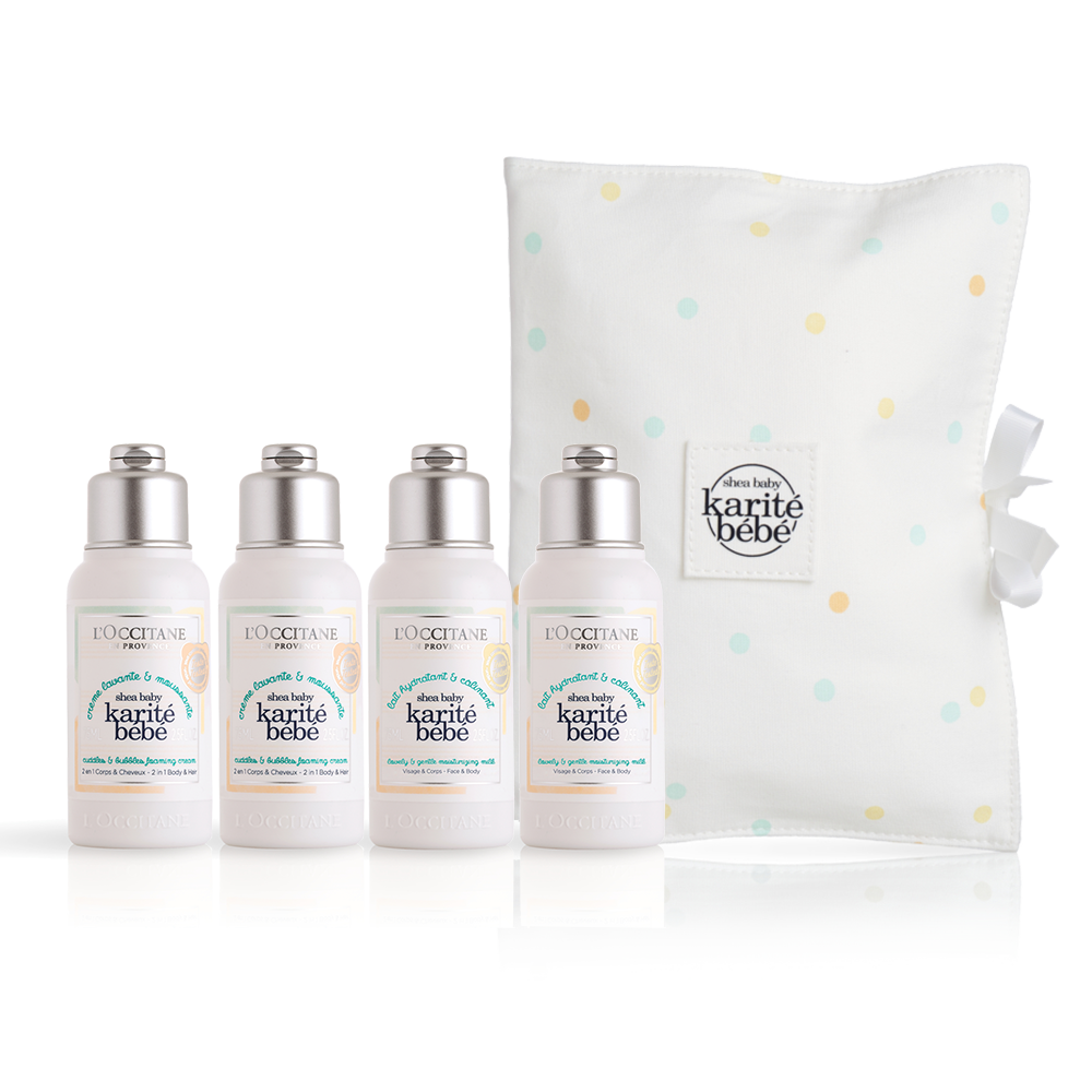 Shea Baby Travel Kit