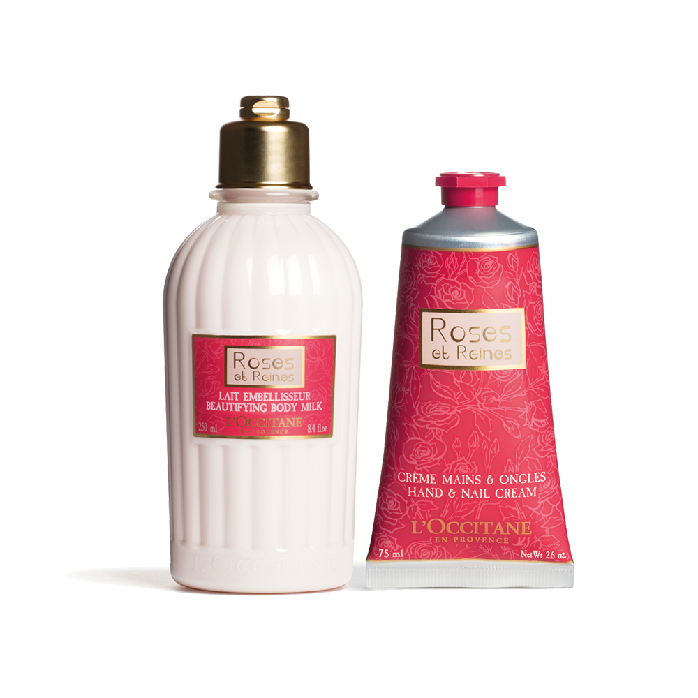 Rose Velvety Body Care Set
