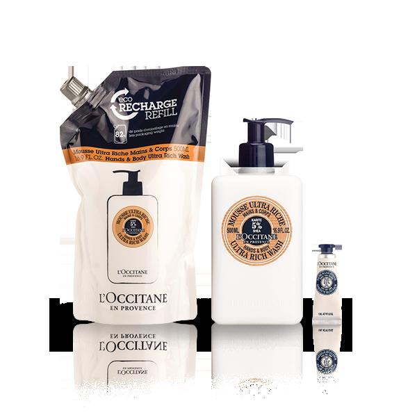 Shea Hands & Body Ultra Rich Wash Eco-Refill Bundle