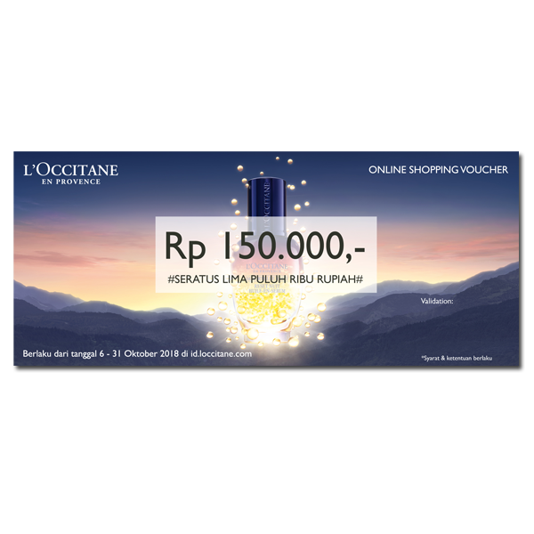 Gratis! Voucher Immortelle Rp150.000