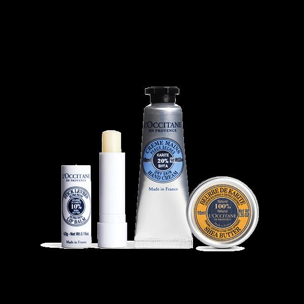 Shea Butter Winter Travel Kit