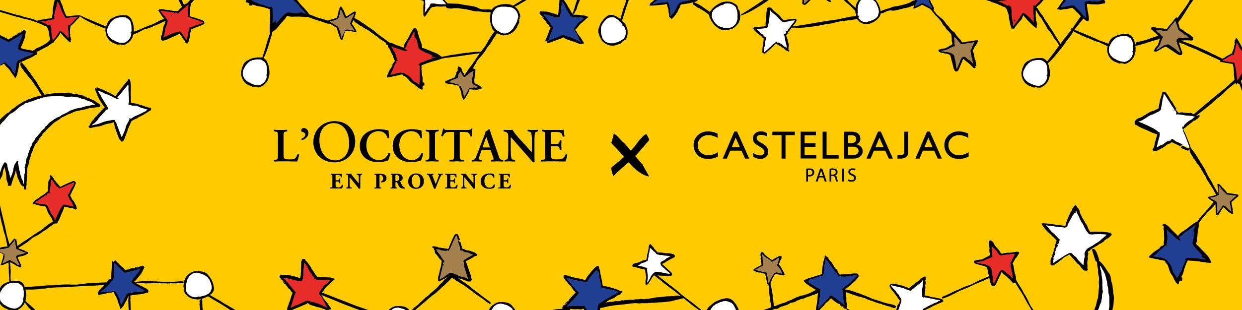 L'Occitane x Castelbajac Paris