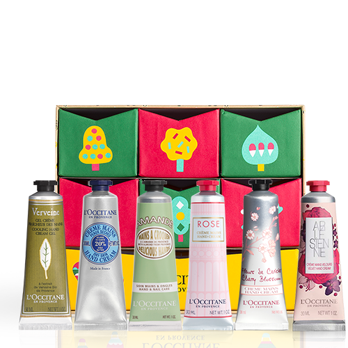 Holiday hand cream collection