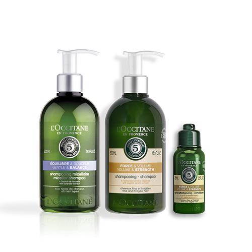 Volume & Strength Alternate Shampoo Set
