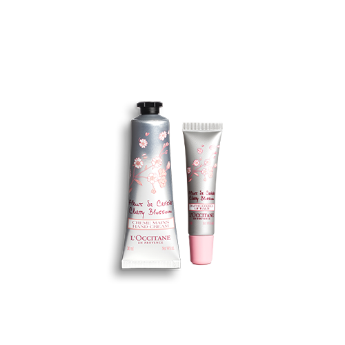 Cherry Blossom Lip & Hand Care Moisturizing Set