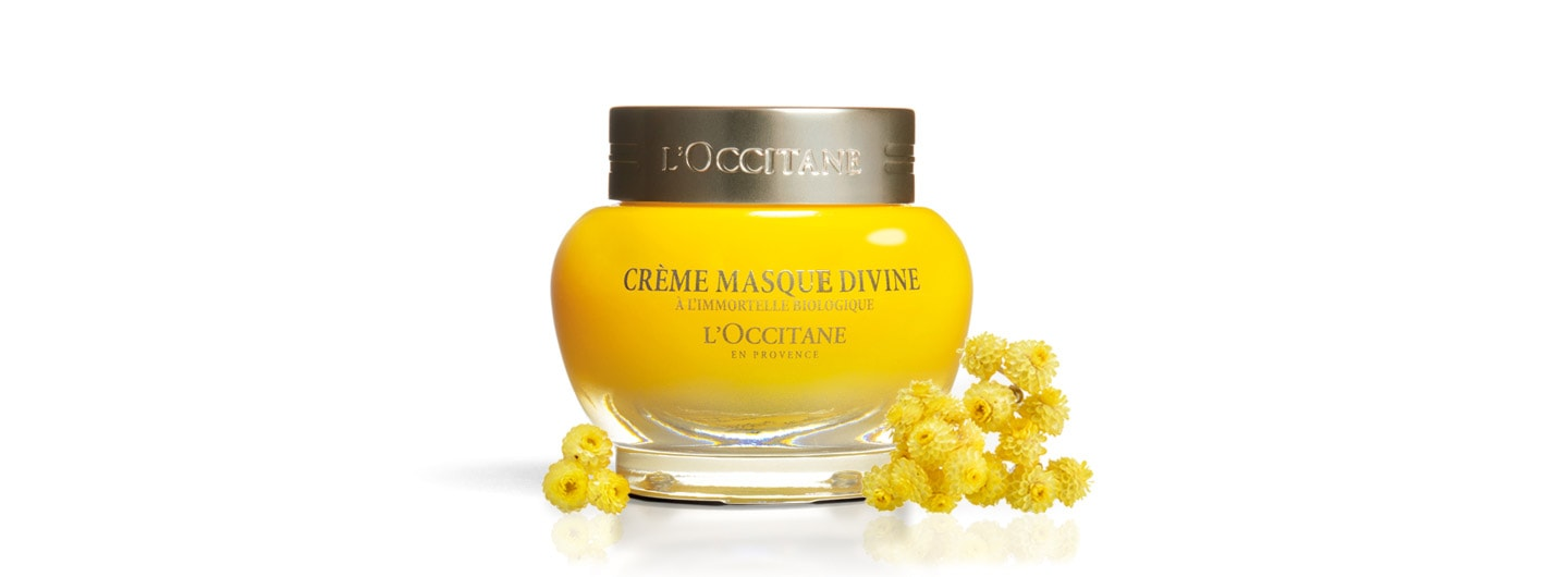 Immortelle Divine Cream Mask - L'Occitane