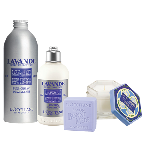 Relaxing Lavender Gift Collection