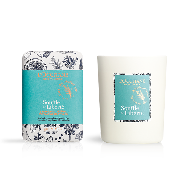 Revitalising Soap And Candle