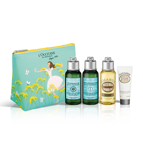 Revitalise & Refresh Travel Set