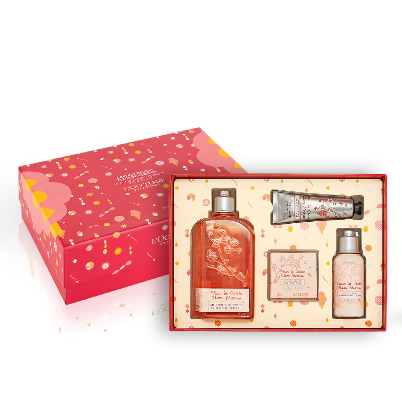 Christmas Cherry Blossom Gift Set