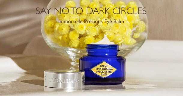 say no to dark circles