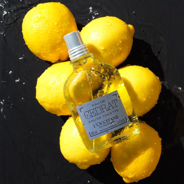 Cedrat Collection - A grooming collection with authentic citrus scent - L'Occitane
