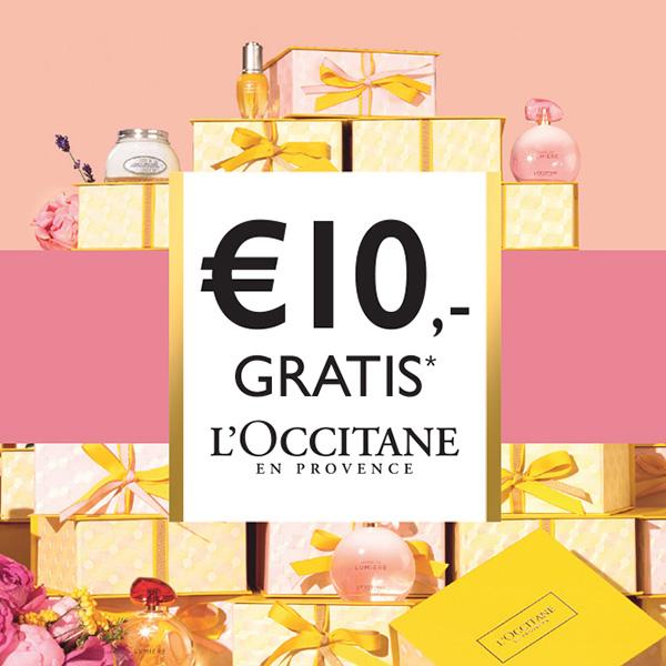 Kortingsbon €10,- bij iedere aankoop van €30,-
