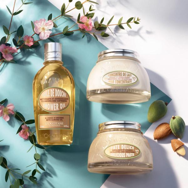 Almond body care - L'Occitane