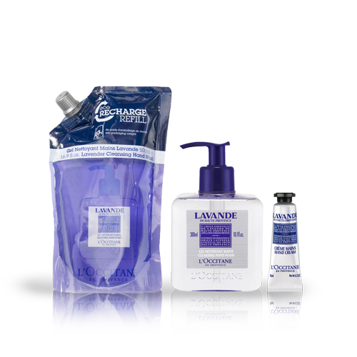 Lavender Hand Wash Eco-Refill Bundle