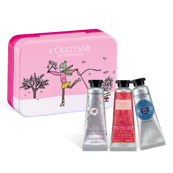 Soft & Tender Hand Cream Mini Pink Box Set