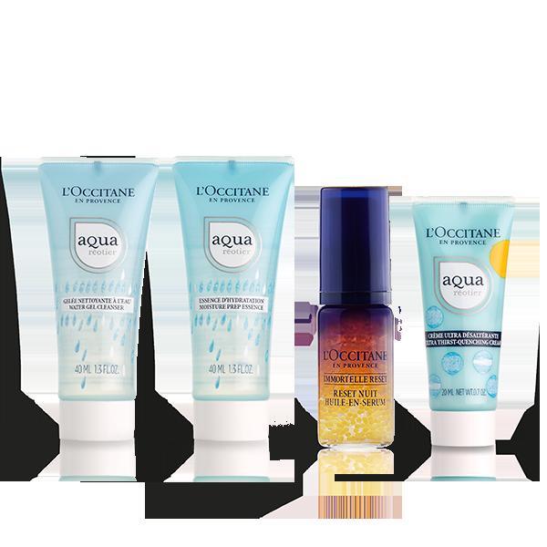 Aqua Reotier Cream Travel Kit