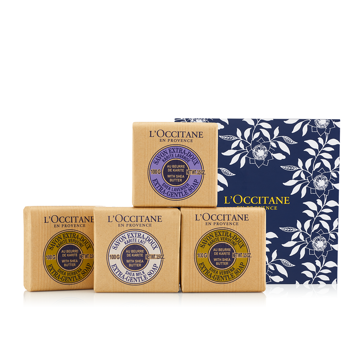 Gentle Shea Soap Set - L'Occitane