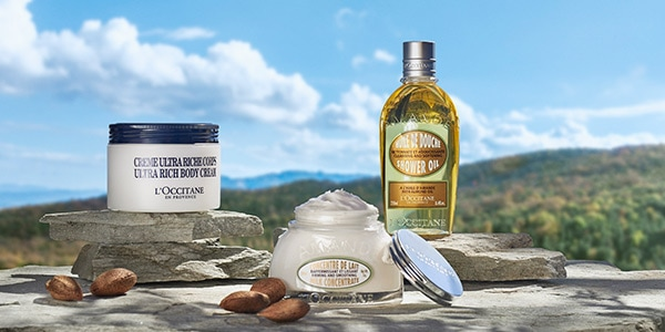 Shea and Almond Collections - L'Occitane