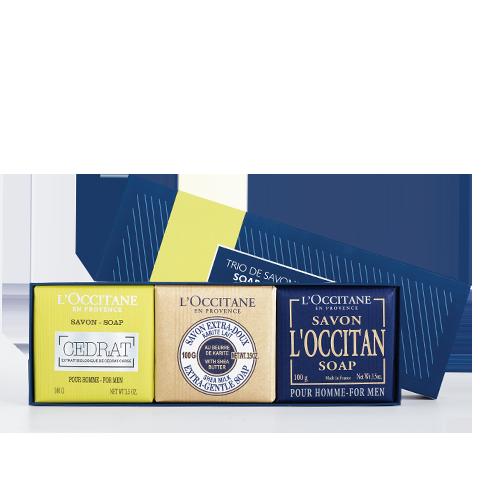 Men's Soap Trio - L'Occitane