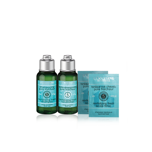 Aromachologie Revitalise & Refresh Travel Set