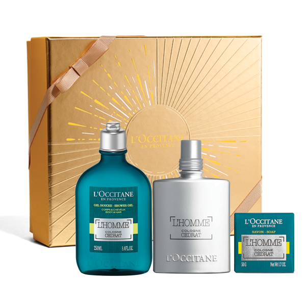 Zesty L'Homme Cologne Cedrat Gift Set