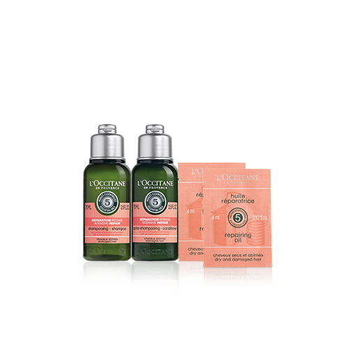 Aromachologie Intense Repairing Travel Set