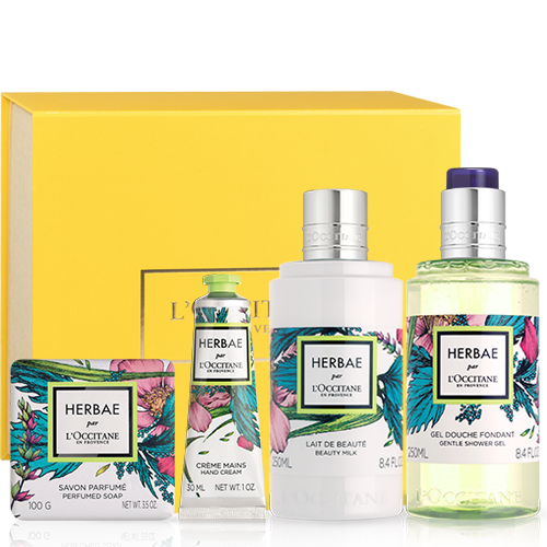Herbae gift set for her