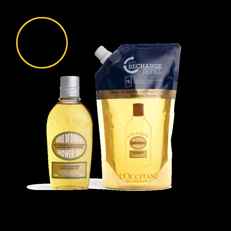 Almond Shower Oil Duo Set