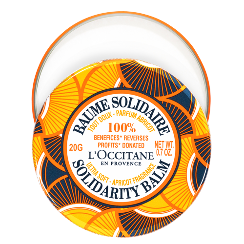 Shea Butter Apricot Solidarity Balm for women's economic independence and leadership