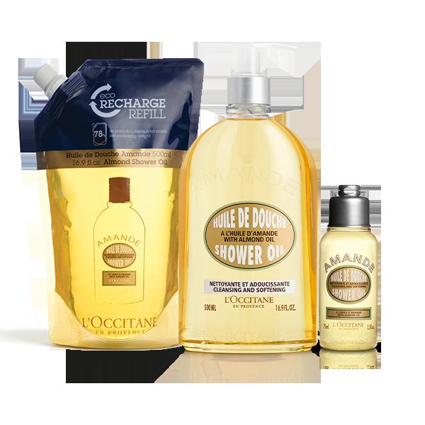 Almond Shower Oil Bundle