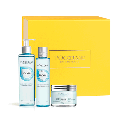 AQUA RÉOTIER FACE CARE TRIO