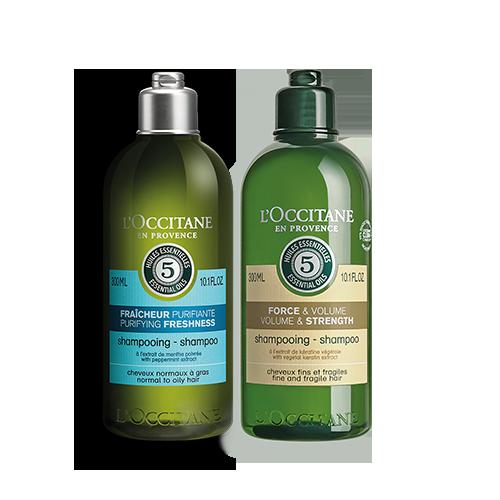 Purifying & Volume and Strength Alternate Shampoo Bundle