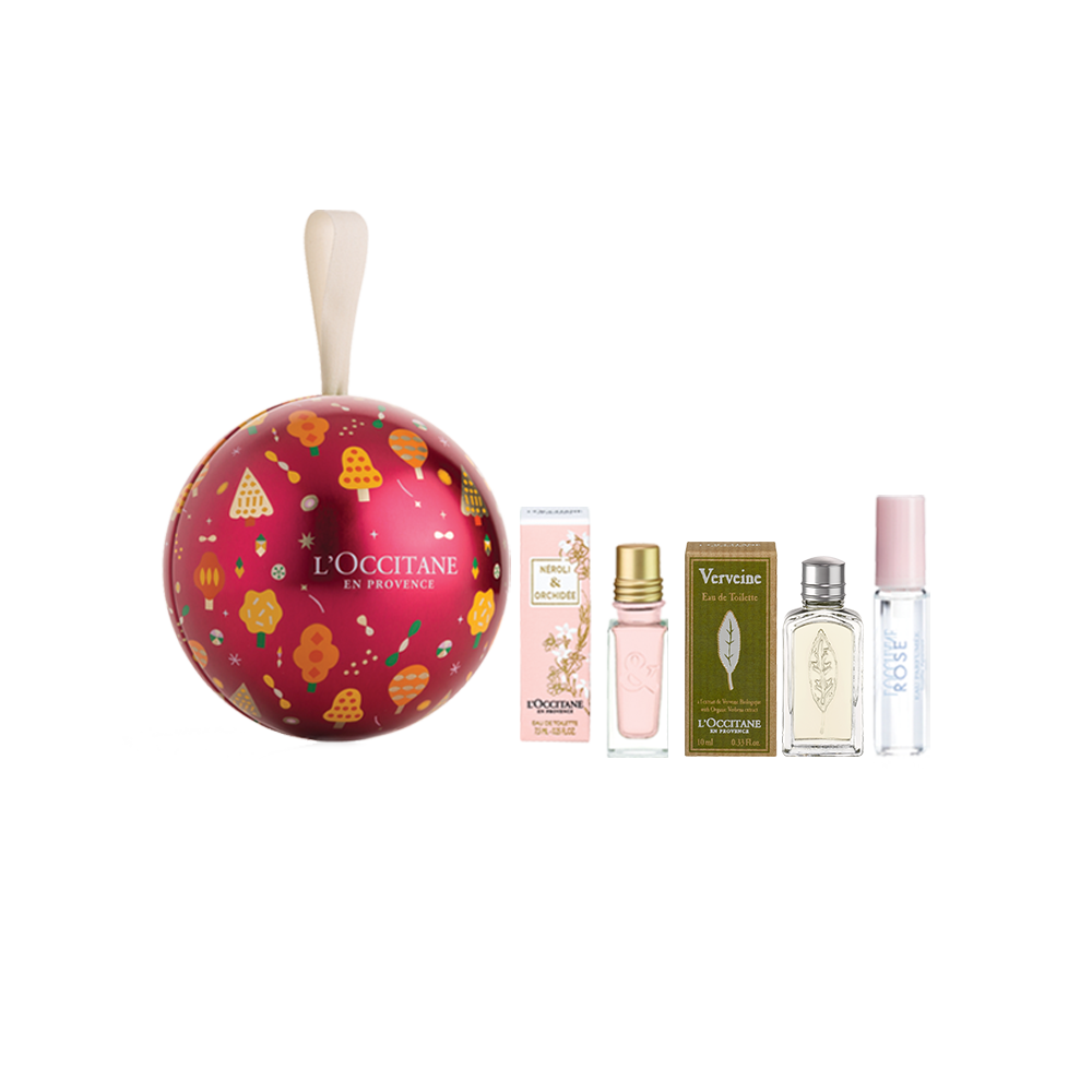 Holiday Fragrance Bauble Gift