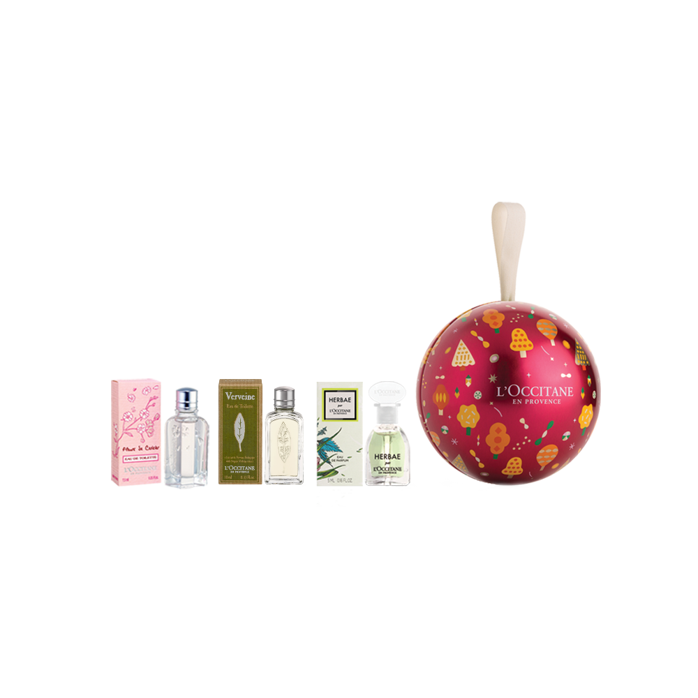 Holiday Perfume Bauble Gift