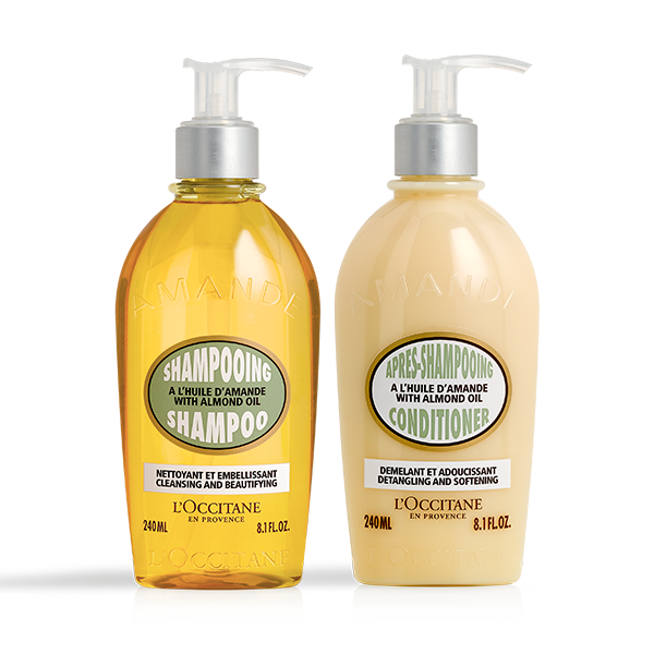 Almond Hair Duo