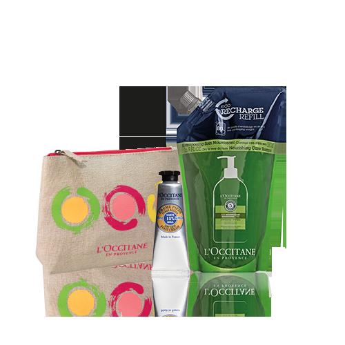 Aromachologie Nourishing Shampoo Eco-Refill Set