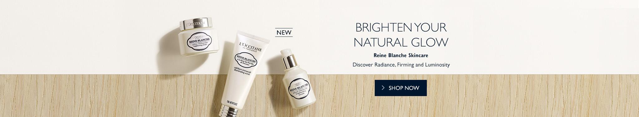 Reine Blanche Brightening Skincare
