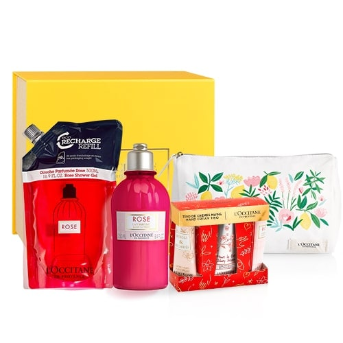 Rose Shower & Body Care Set