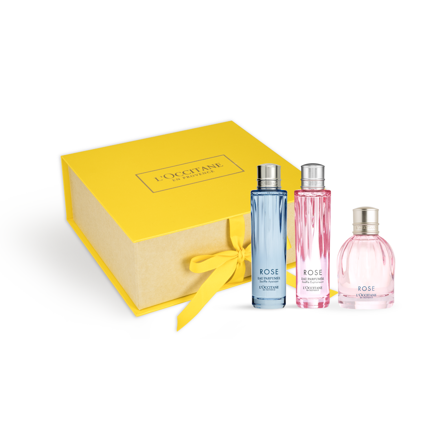 Rose Perfume Trio Gift Set