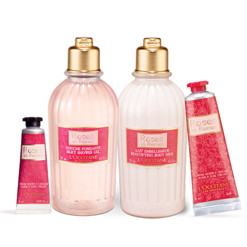 Rose Beautifying Body Care Set