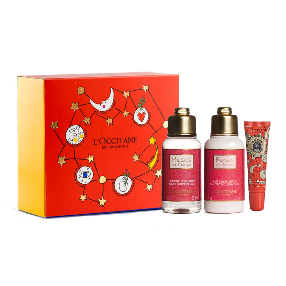 Flowery Rose Gift Set