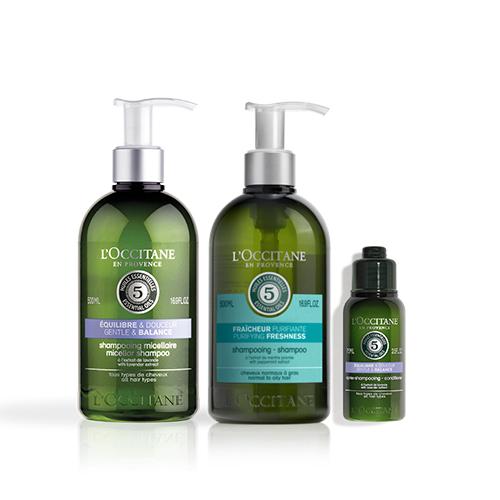 Purifying Alternate Shampoo Set