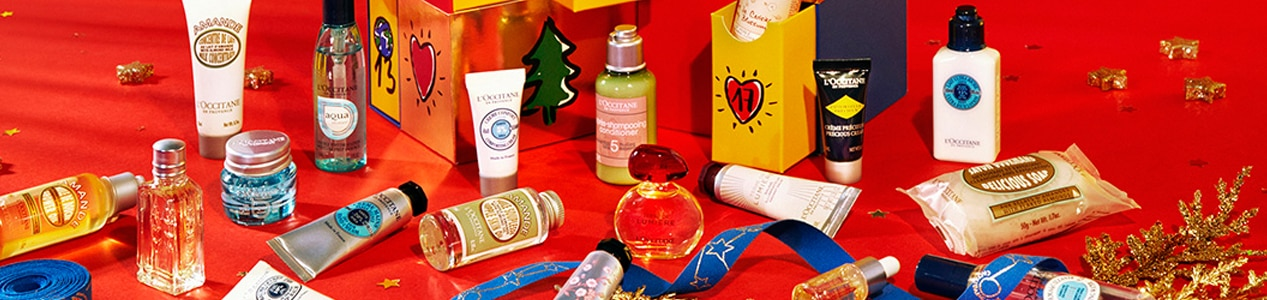 november promo L'Occitane natural skincare