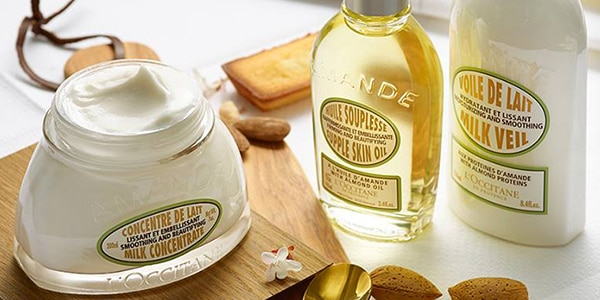 Firm looking skin - Almond shaping delight - l'Occitane