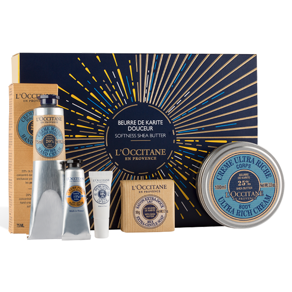 Holiday Shea Butter Gift Set